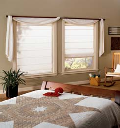 Choosing Roman Blinds or Roller Blinds