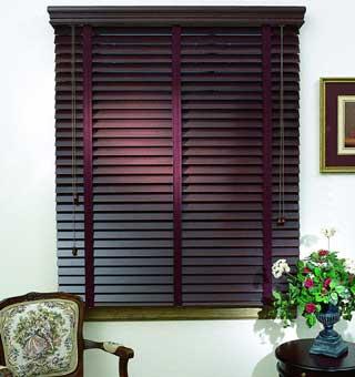 Choosing Wooden Blinds as Window Treatments.
