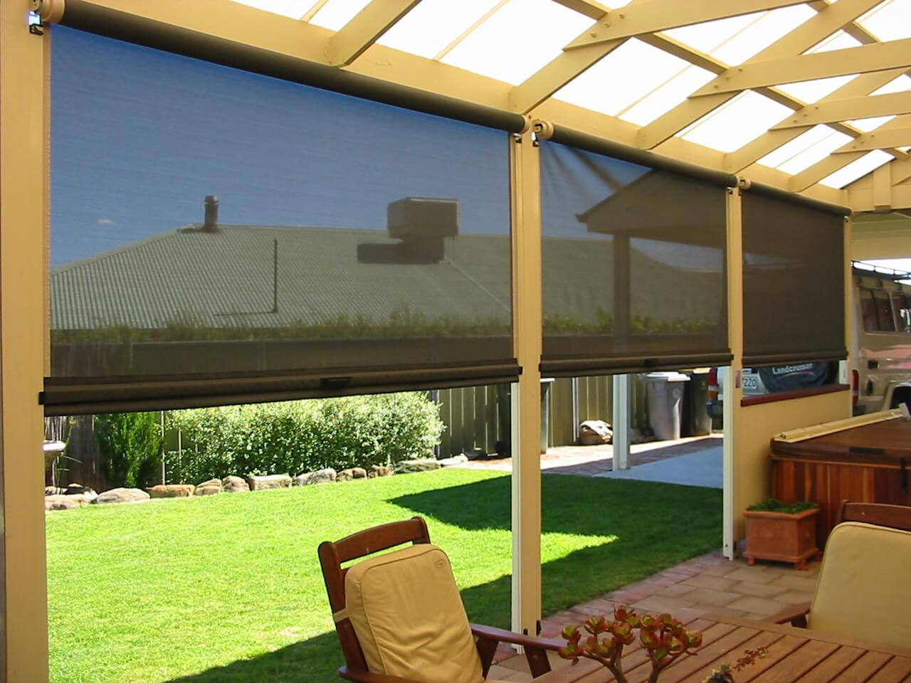 Outdoor Blinds: Top 4 Advantages