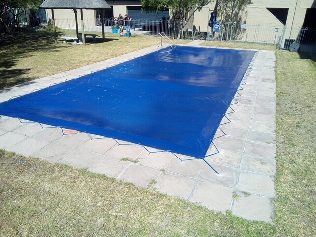 LACE POOL COVER BLUE BLACK CURRO CENTURY CITY